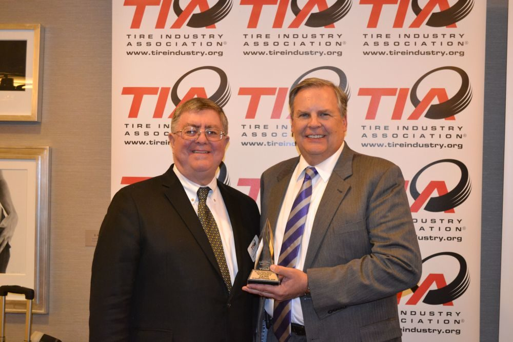SEMA Show, pre-show: TIA honors MTD publisher