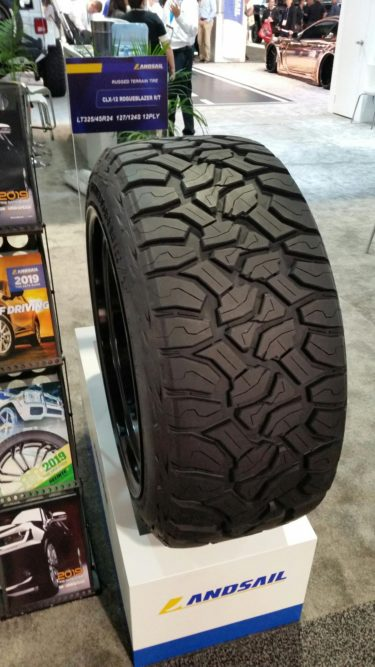 Sentury's Landsail R/T Tire Is Available in Load Range F Sizes