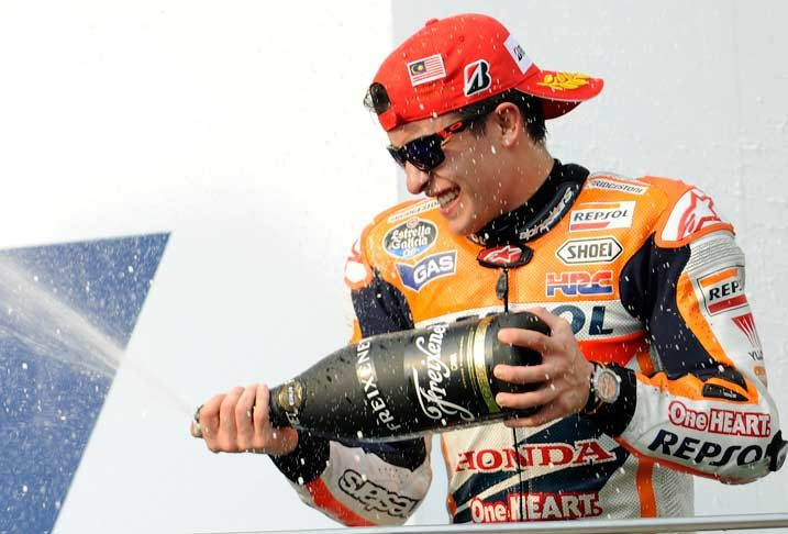 Sepang success makes it twelve MotoGP wins for Marquez in 2014