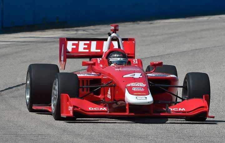 Serralles takes victory honors at Milwaukee