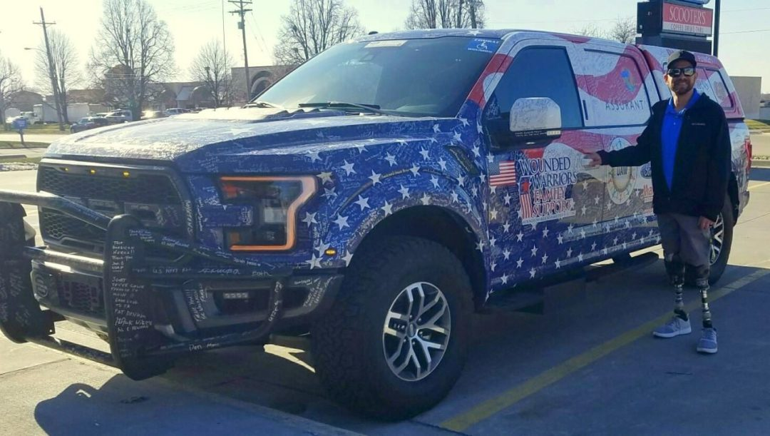 Simple Tire Helps Give a Truck to a Veteran