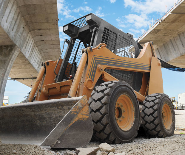 Skid steer operators are on a tire-buying spree