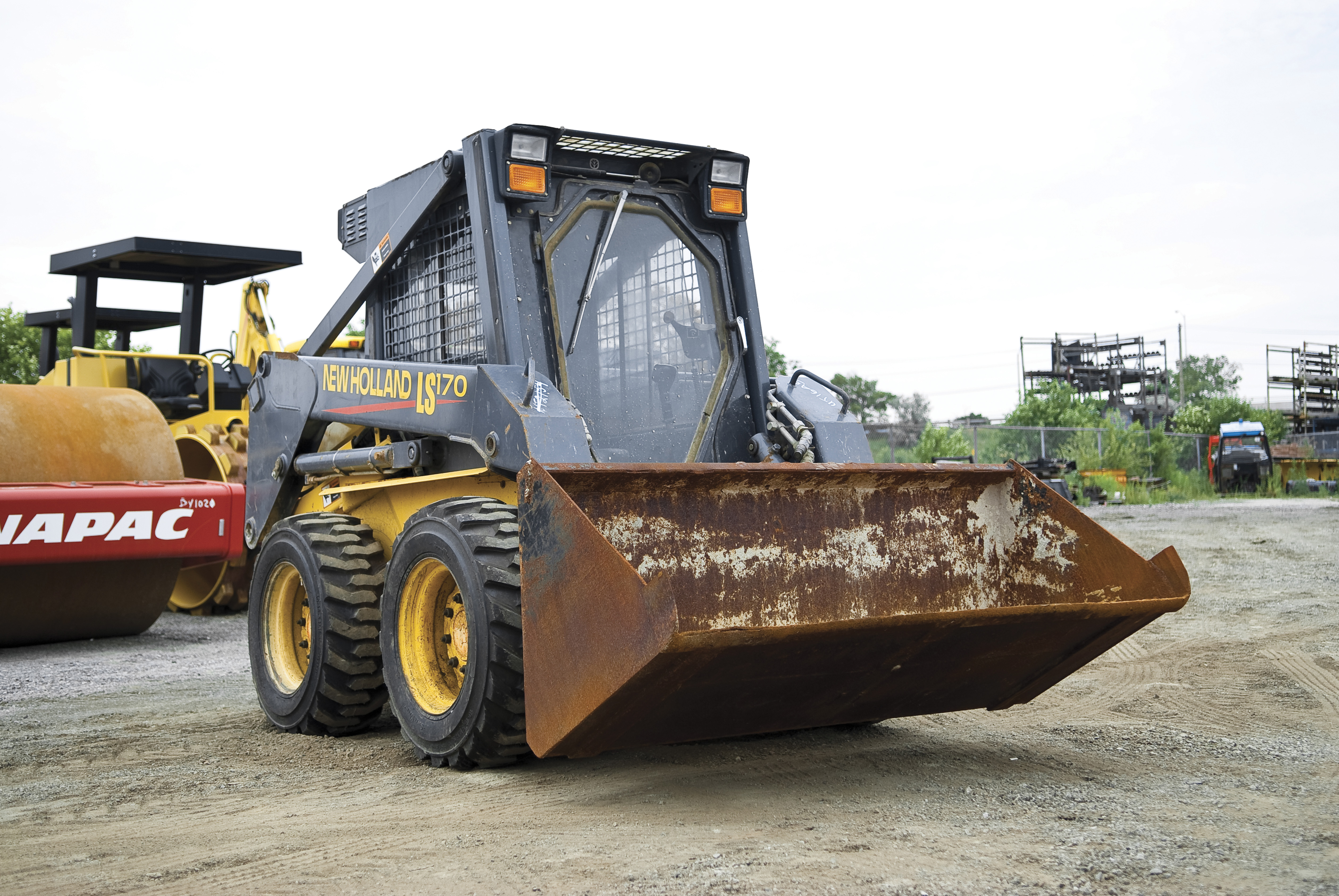 Skid steer tread patterns go from all-purpose to purpose-built