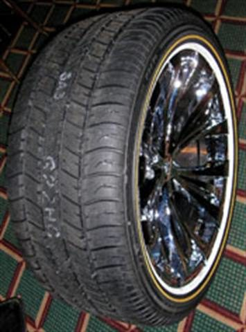 Small company, big impact: Vogue Tyre specializes in stylish sidewalls
