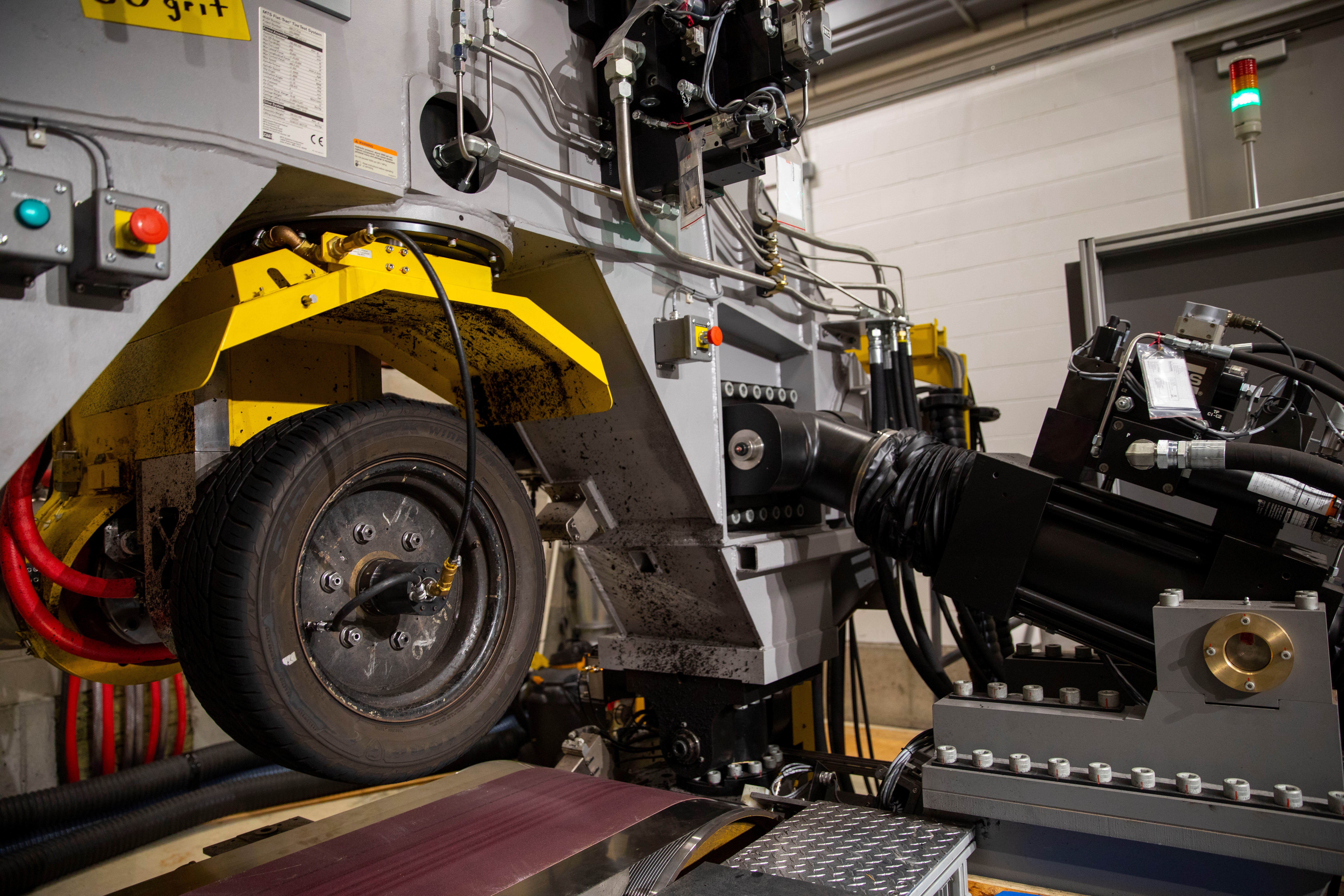 Smithers Rapra Lab Expansion Features a New Tire Testing System