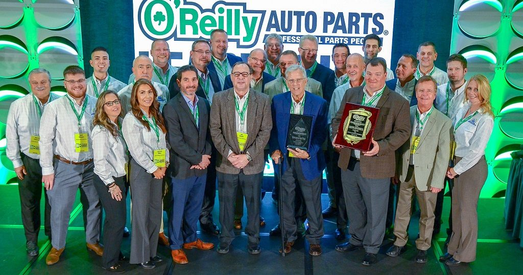 SMP Earns Top Supplier Honors From O'Reilly Auto Parts