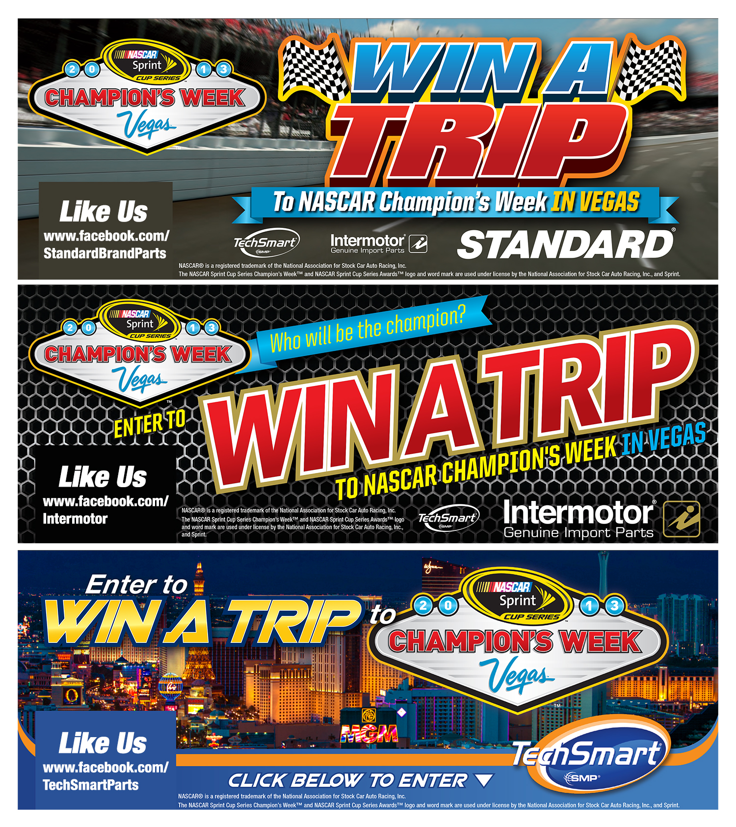 SMP fall promo offers NASCAR trip for two