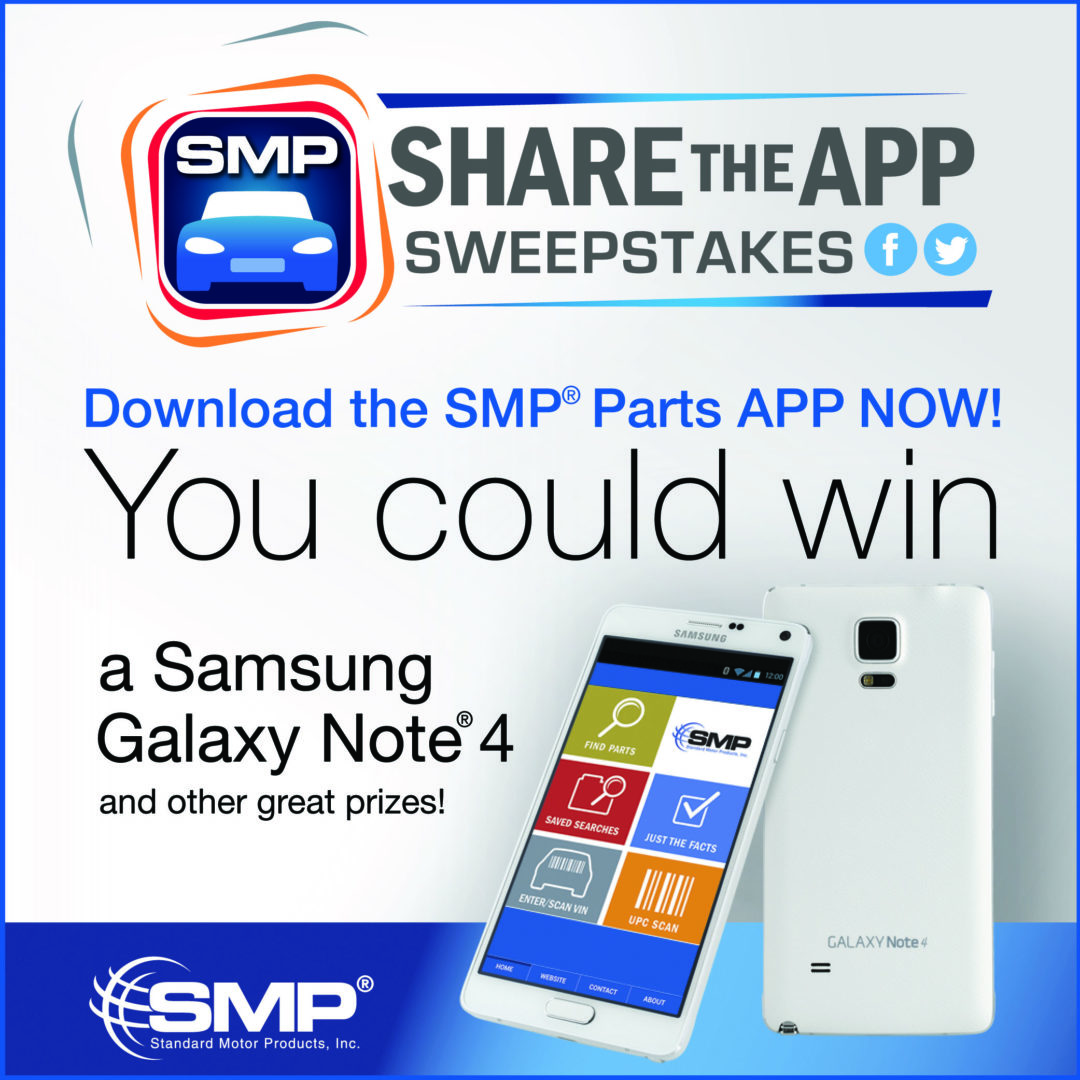 SMP kicks off 'Share The App' sweepstakes