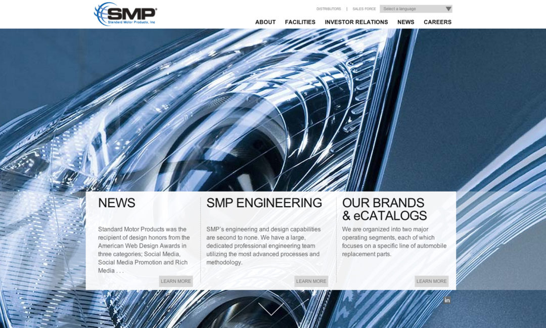 SMP launches new corporate website