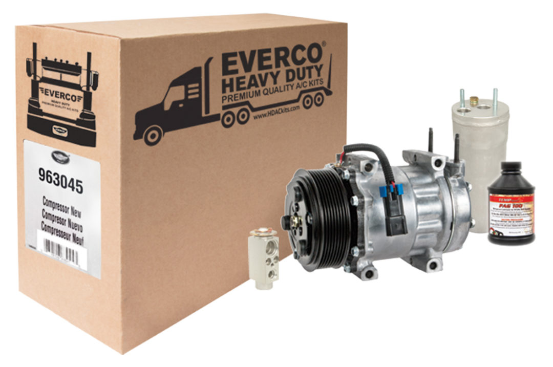 SMP Releases Everco Heavy Duty AC Kits