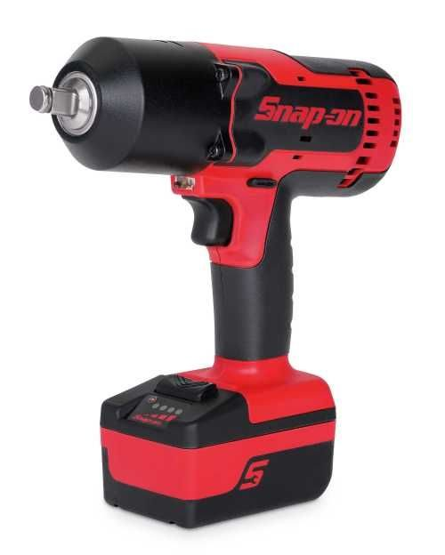 Snap-on cordless impact wrench offers power