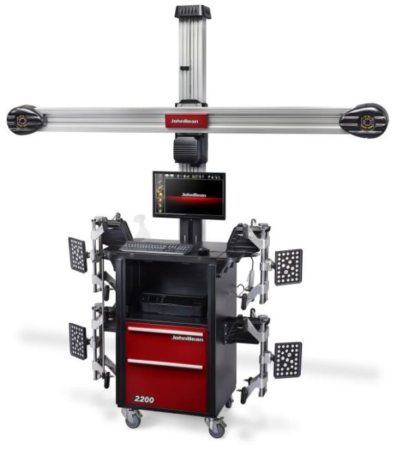 Snap-on has new wheel alignment system