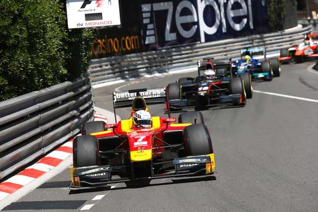 Soft And Supersoft P Zero Tires For GP2 In Monaco