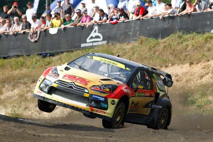 Solberg wins German World RX round after closest finish in sport's history