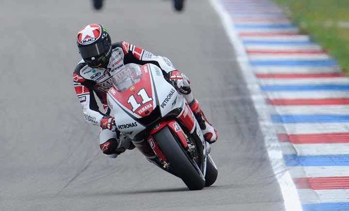 Spies excels at Assen to take first MotoGP victory