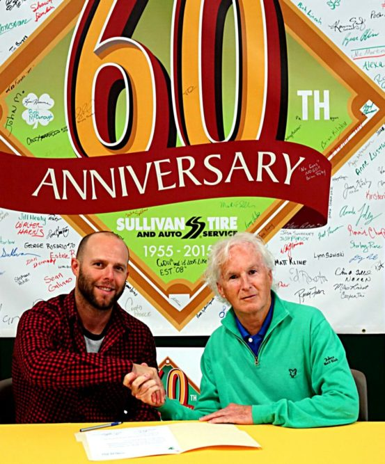 Sullivan Tire extends contract with Pedroia