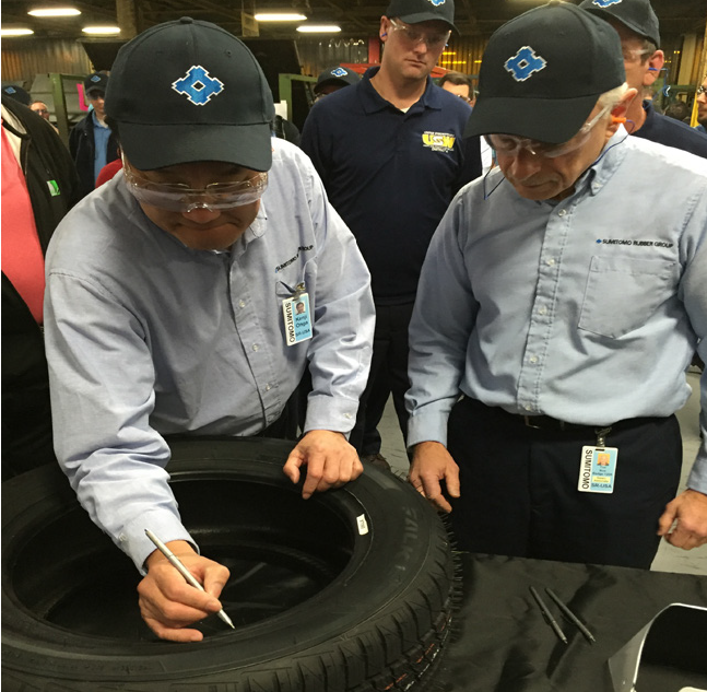 Sumitomo Is Producing Falken-Branded Tires at New York Plant