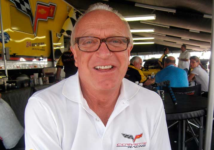 Talking with Corvette Racing's Doug Fehan about partnership with Michelin