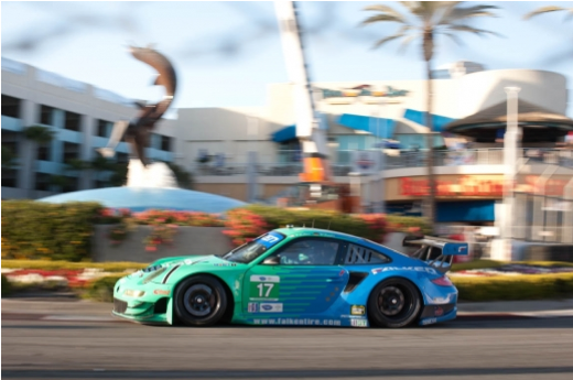 Team Falken finishes sixth at Long Beach