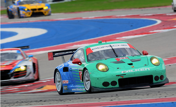 Team Falken looks to defend its victory at Petit Le Mans