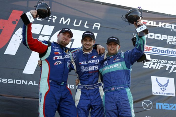 Team Falken looks to repeat history at 'The Gauntlet'