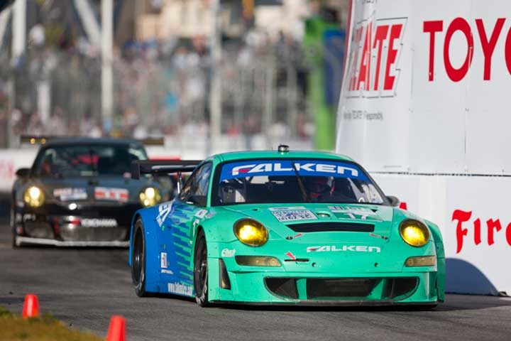 Team Falken places fourth in class at Long Beach