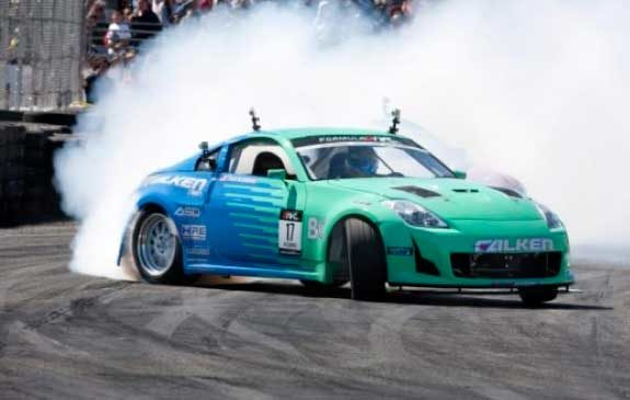 Team Falken prepares to invade Palm Beach