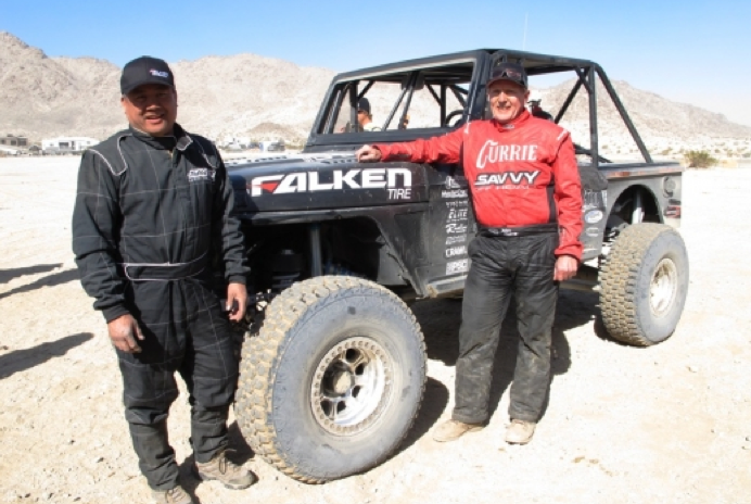 Team Falken scores 1st win at King of the Hammers'