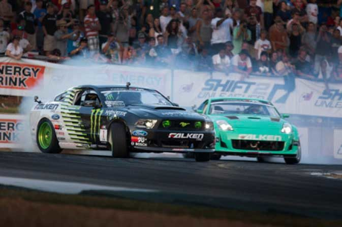 Team Falken takes round two in Formula Drift competition