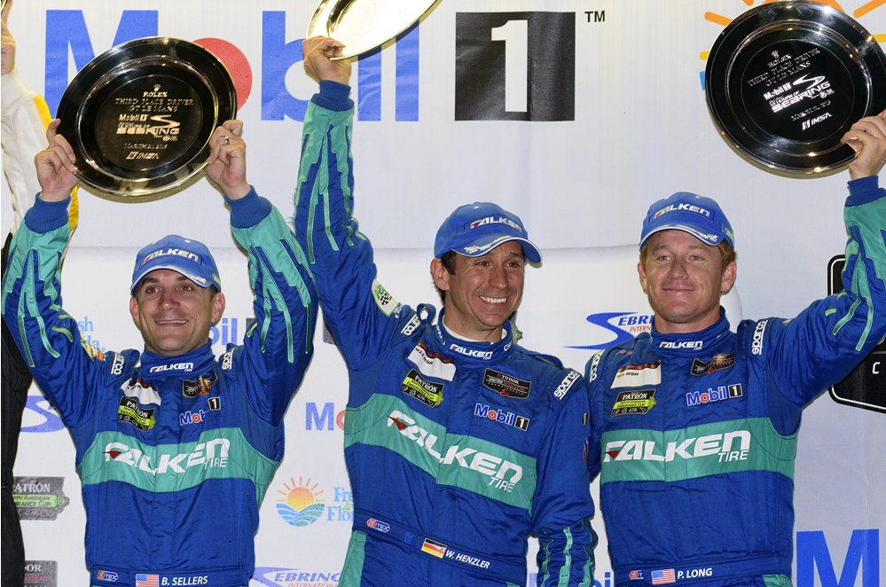 Team Falken takes third place in GTLM class at 12 Hours of Sebring