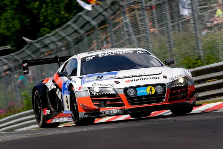 Team Prosperia C. Abt Racing and Hankook ready to tackle the Nürburgring 24 hour race