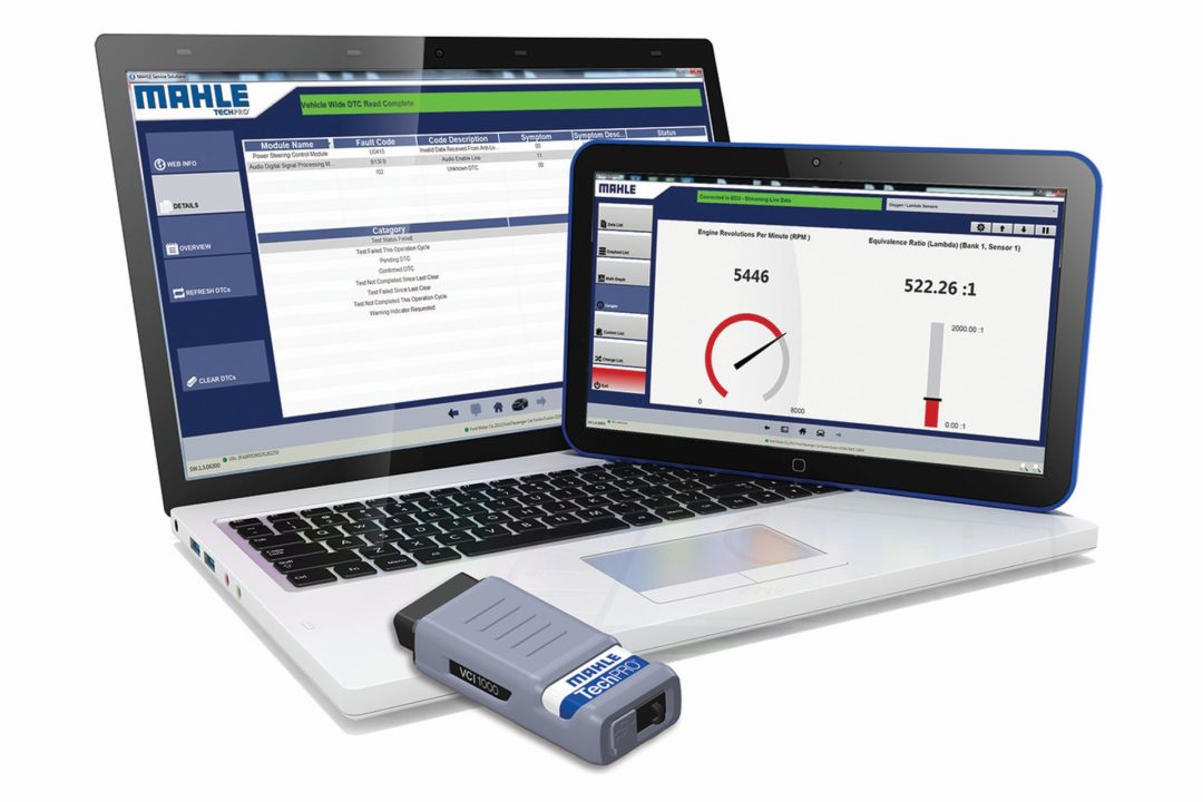 TechPro Scan Tool Offers One Click VIN Decoding