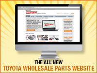 The All New Toyota Wholesale Parts Website