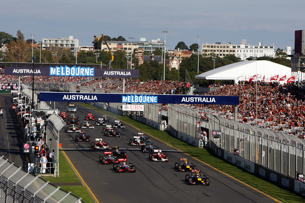 The Australian Grand Prix from a tire point of view