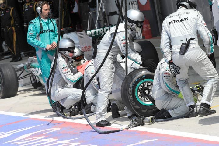 The German Grand Prix from a tire point of view
