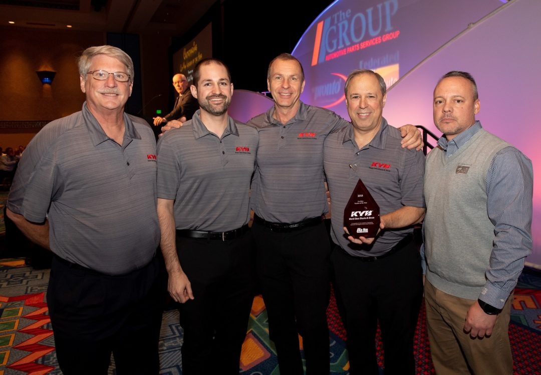 The Group Names KYB Its Co-Man Vendor of the Year