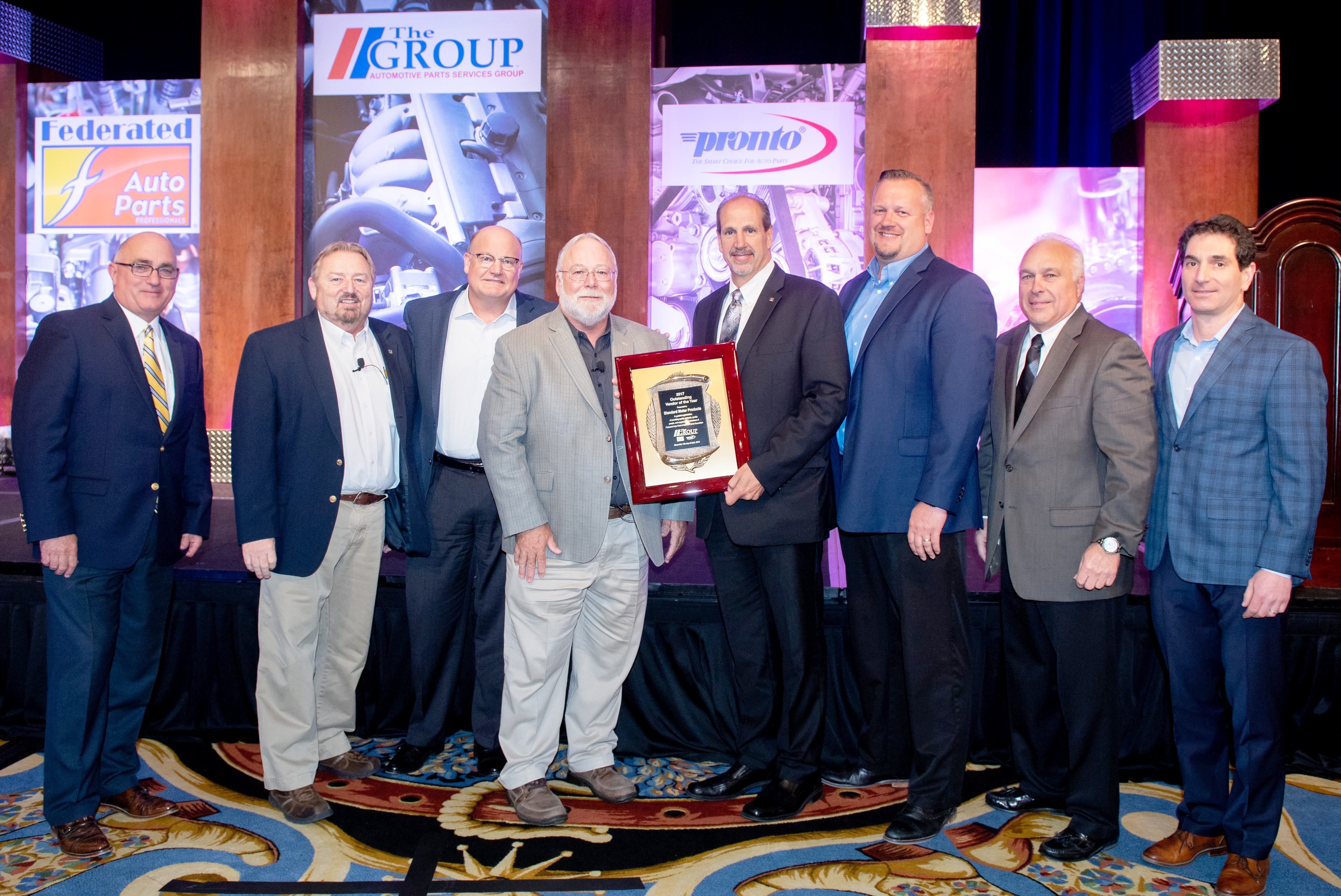 The Group Names SMP Outstanding Vendor of the Year
