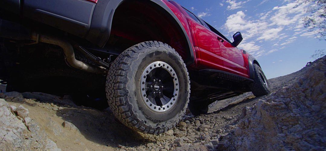 The Latest Ford to Wear OE Tires From Michelin: the 2017 F-150 Raptor