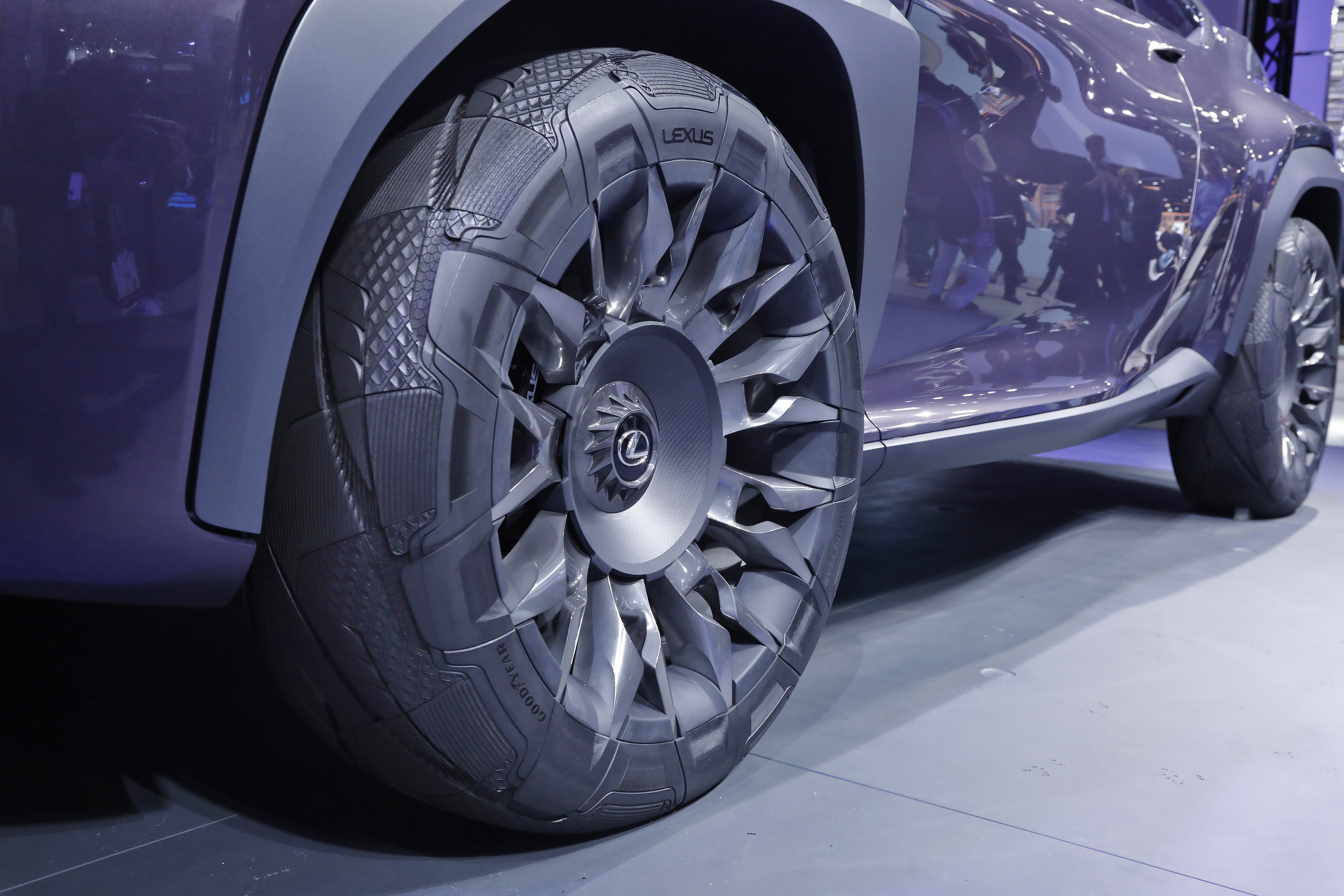 The Latest Goodyear Concept Tire Evolves From the Inside Out