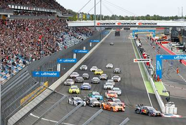 The Lausitzring Track Demands A High Level Of Grip