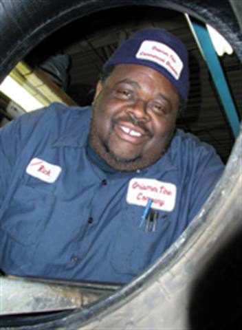 'The Michelangelo of Tire Repair:' With skilled hands, Rick Smith turns truck tires into works of re-usable art