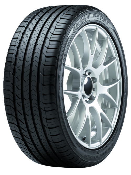 The new mid-tier Goodyear Eagle has landed