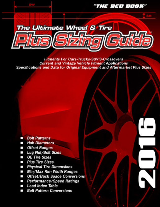 The Ultimate Wheel & Tire Plus Sizing Guide 2016 Is Available Now