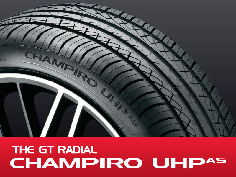 The Ultra High Performance, All Season Tire from GT Radial
