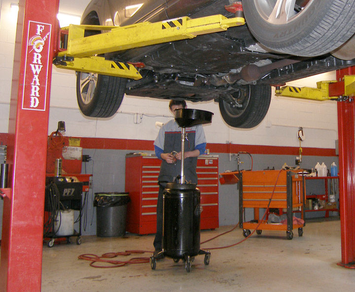 There is a BIG disparity in oil change pricing