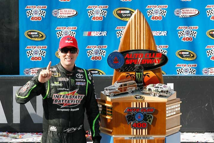 Third 2014 victory for Kyle Busch and Raybestos Brakes