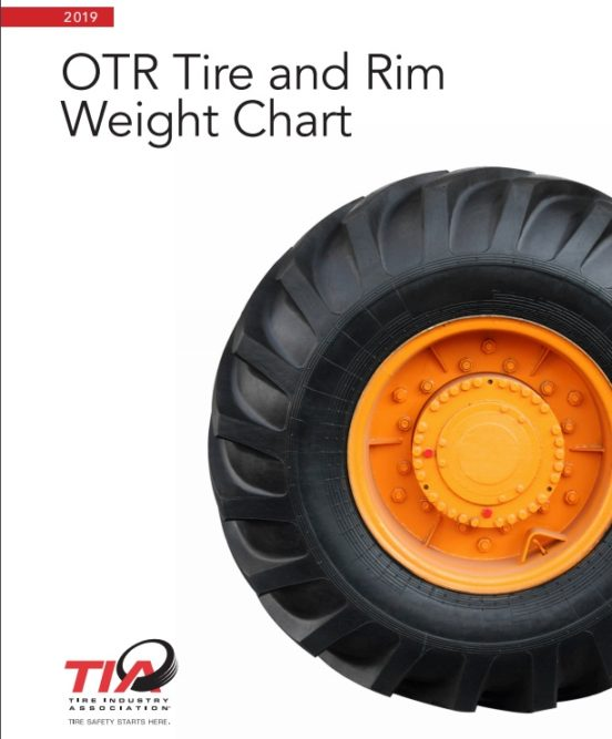 TIA Assembles OTR Tire and Wheel Weights in Free Guide for Technicians