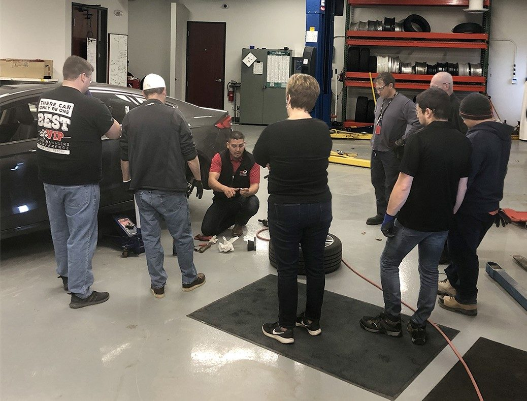 TIA Brings ATS Training to Schrader