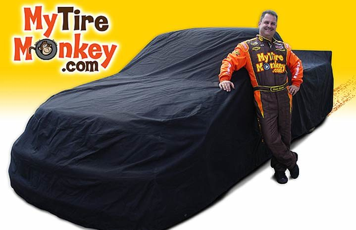 Tire business brings primate to NASCAR