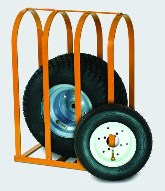 Tire Cage for Small, Non-Highway Tires